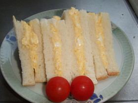 いつもの卵サンド