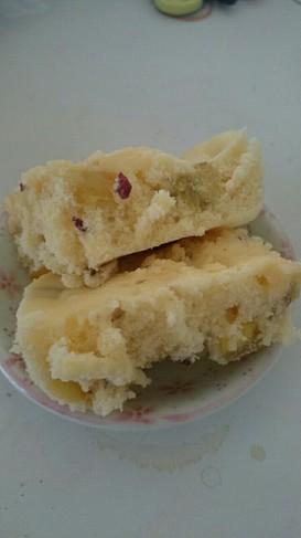 離乳食おやつ☆米粉入りさつま芋蒸しパン