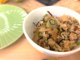 ヘルシー野菜の炒め飯