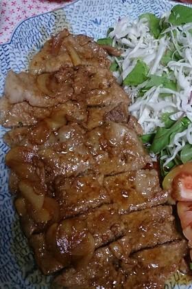 豚肉のはちみつ醤油焼き
