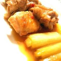 鶏のチリ照り煮