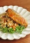 超簡単☆鰯の味噌煮缶とエノキのおつまみ
