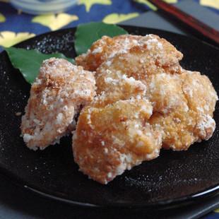 サクサクジューシー鶏の竜田揚げ