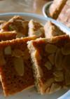 アーモンドクッキー風♪簡単ケーキ