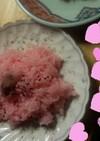 炊飯器で簡単お赤飯、甘納豆入り。