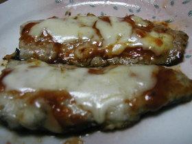秋刀魚のチーズ焼き