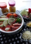 洋風♪塩レモン♪トマト煮込み鍋♪