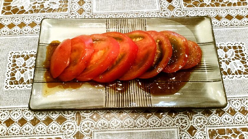 うまうま♡冷やしトマトの中華だれ