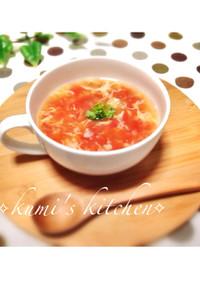 簡単ヘルシートマトスープ♡ダイエットに♡