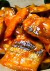 惣菜アレンジ☆サンマと茄子のチリソース