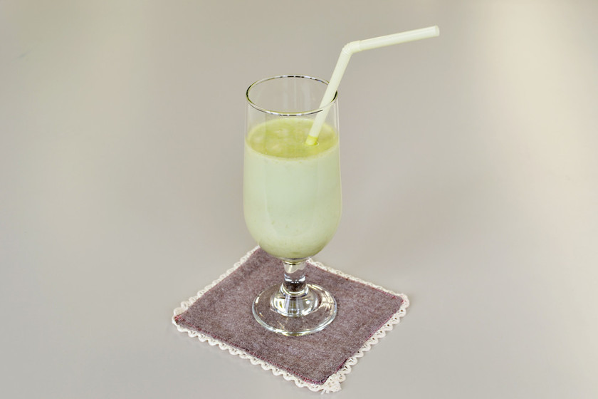 【手もみジューサー】抹茶バナナジュース