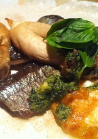 秋刀魚と国産チーズのオーブン焼き