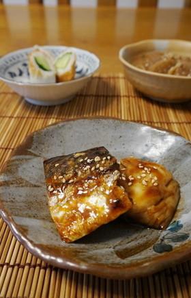 お弁当に☆塩鯖の照り焼き