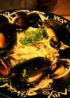 コストコムール貝とシーチキンのパスタ