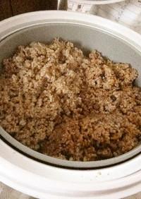 圧力鍋で 寝かせ玄米・発酵玄米・酵素玄米