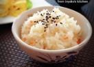 油揚げと生姜の炊きこみご飯(おこわ)