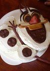 オラフのケーキ