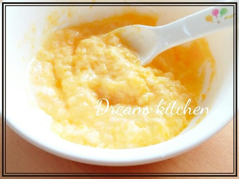 離乳食初期★かぼちゃヨーグルト