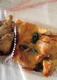 犬の手作りご飯。白身魚のお弁当