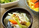簡単!秋の味覚秋鮭☺鮭のあら汁