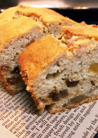 ノニジュースで作るおからのフルーツケーキ