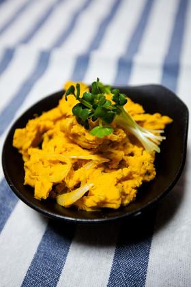 【超簡単】カボチャと玉葱のポテトサラダ