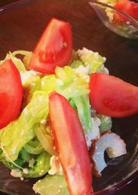 妊婦さんに!食べるキャベツサラダ♪