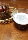 ほうじ茶ゼリー&タピオカココナッツミルク