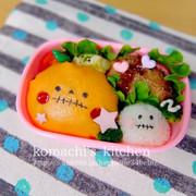 幼稚園 お弁当 キャラ弁♡ハロウィンの写真