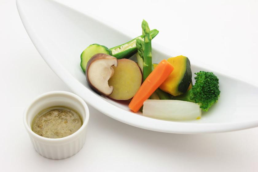 阿波温野菜バーニャカウダ(ゆずこしょう)