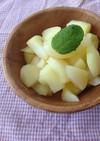 洋梨みたいな食感♡リンゴの蒸し煮