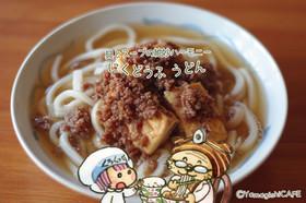 具とスーブの絶妙ハーモニー♡肉豆腐うどん