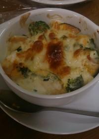 温野菜のマヨチーズ焼き