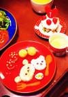 卵砂糖牛乳不使用!1歳バースデーケーキ*