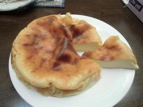 ボウル要らず!豆乳豆腐ケーキ チーズ風味
