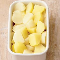 かぶとじゃがいものバター蒸しサラダ