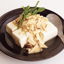 きのこの豆腐サラダ