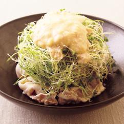 豚しゃぶとアルファルファのサラダ