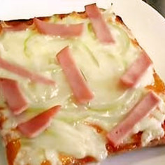 超簡単!なんちゃって ピザトースト