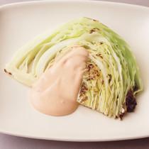 焼きキャベツのオーロラサラダ