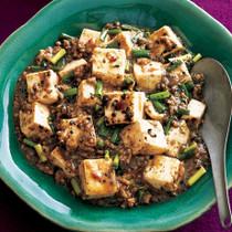黒ごま麻婆豆腐