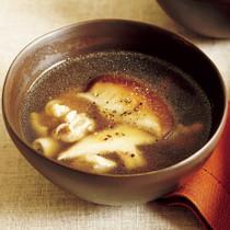 うまみたっぷりしいたけスープ
