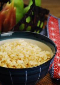土鍋直火炊き☆玄米の炊き方