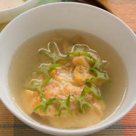 四角豆(うりずん豆)のたまごスープ♪