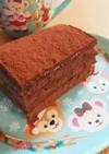 簡単♪ラズベリーピューレの生チョコケーキ