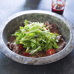 中華ドレ 牛タンサラダ