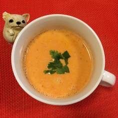 簡単牛乳で♡濃厚エビのスープ