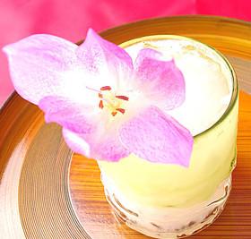 ラッキョ酢と甘酒のカクテル【井上料理】