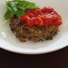 ダイエット★鯖と豆腐のハンバーグ