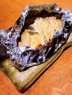 フライパンで!生秋鮭のマヨ味噌ホイル焼き
